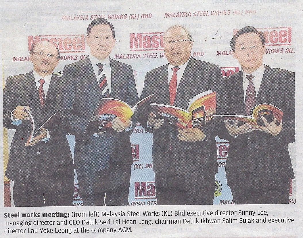 Malaysia Steel Works Annual General Meeting
